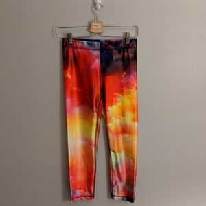 Zara Terez Colorful Sunset Performance Leggings